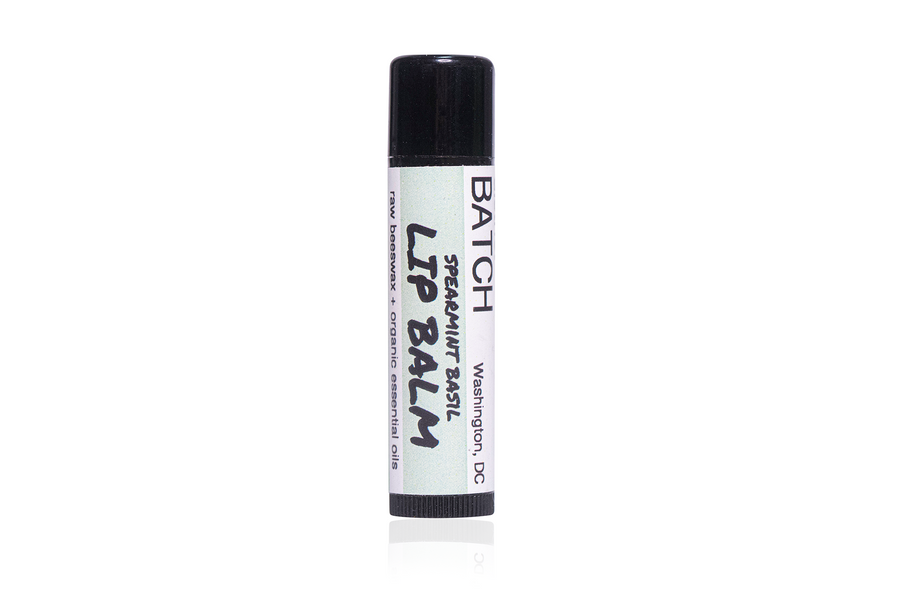 SPEARMINT + BASIL LIP BALM