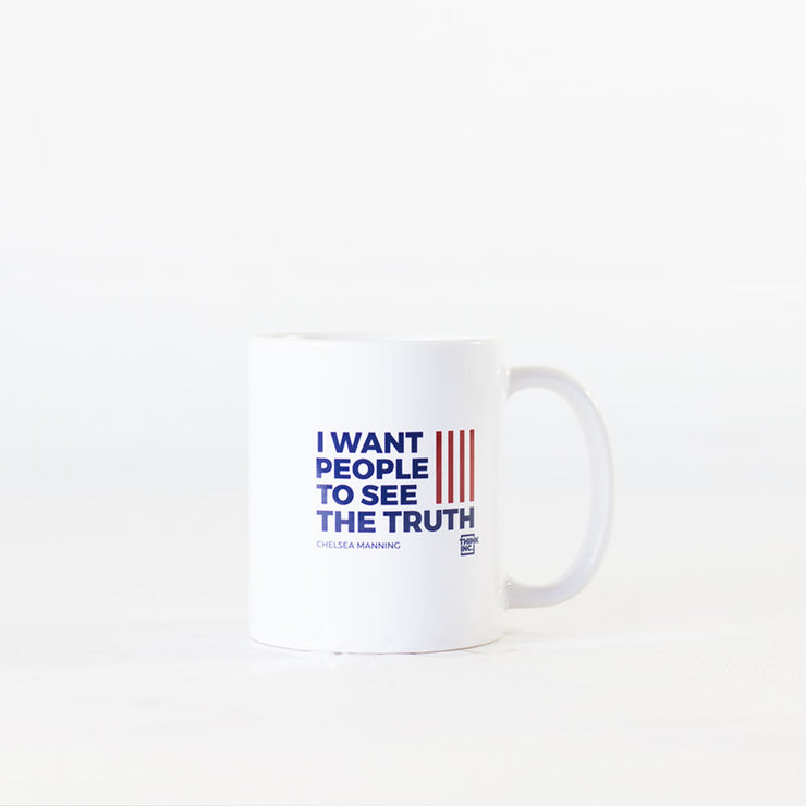 Chelsea Manning Truth Tour Mugs