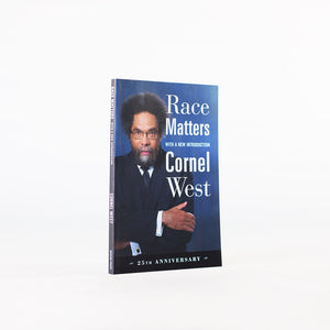 Dr Cornel West - Race Matters, 25th Anniversary (Signed)