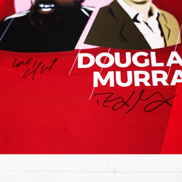 Cornel West & Douglas Murray 2018 Tour Poster - Signed