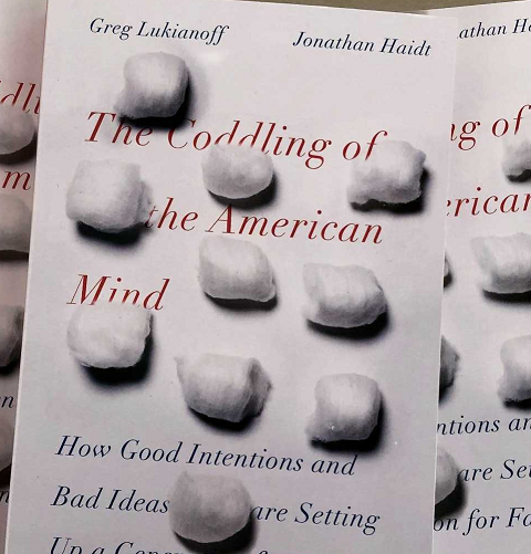 Jonathan Haidt - The Coddling of the American Mind - Signed Copy