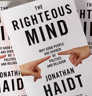 Jonathan Haidt - The Righteous Mind - Signed Copy