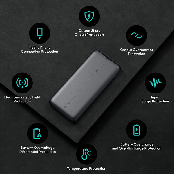 PowerBank OPPO 10000mAh VOOC Flash Charge Polymer
