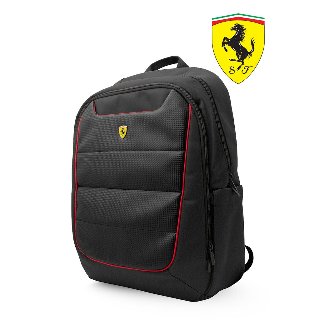 Ferrari - Backpack SF Simplified Red Piping