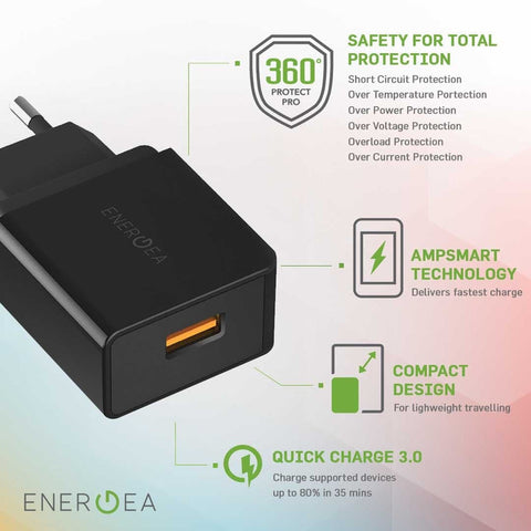Charger Energea Ampcharge QC 3.0A 18W