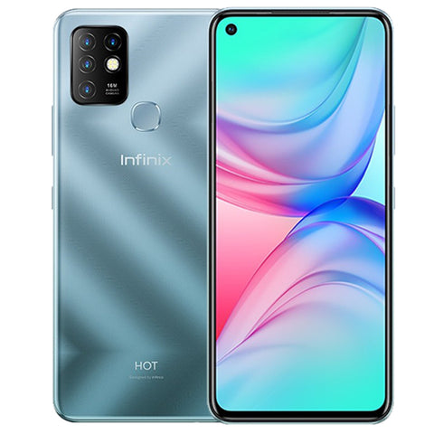 Infinix Hot 10 4/64GB & 4/128GB & 6/128GB