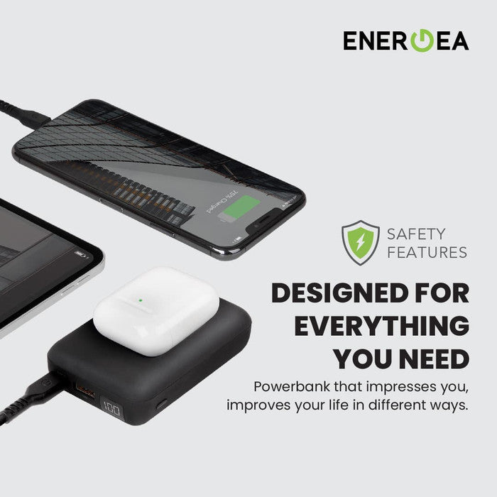 PowerBank Energea Compac Ultra Wireless PD Fast 10.000 mAh