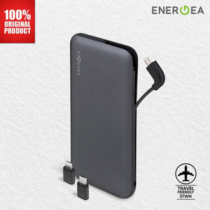 PowerBank Energea Integra 10.000 mAh+ with USB-C + Lightning Adaptor