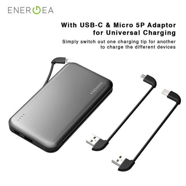 PowerBank Energea Intralite Trio 10.000 mAh Free Adapter