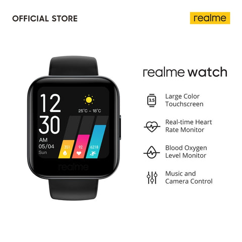 Realme Watch [Touchscreen, Heart Rate Monitor, Blood Oxygen Monitor]
