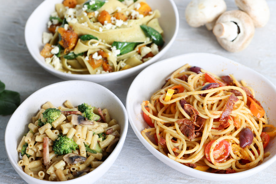 KATE COOKS: Easy weeknight pasta - low fuss, maximum flavour.