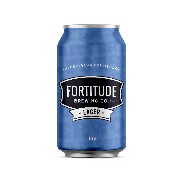 Fortitude Brewing Co Lager 4 pack (Alc/Vol 4.4%)