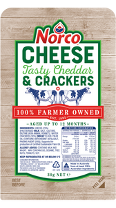 Norco Cheese & Crackers snack pack 30g