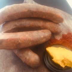 Sausages - continental Red Wine Italian  500g (Sodium Nitrate & Gluten Free)