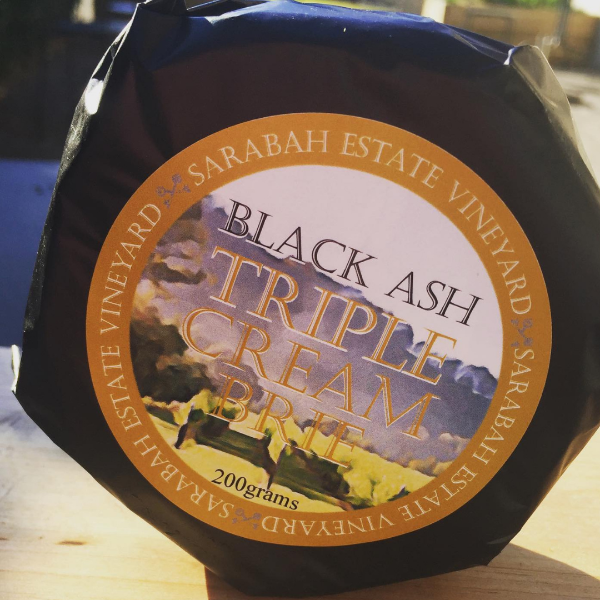 Black Ash Triple Cream Brie 200g