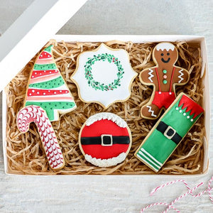 Christmas Cookie Gift Pack (Box of 6)