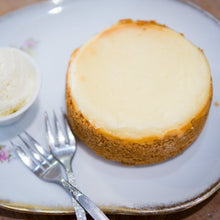 Load image into Gallery viewer, Tan's famous baked cheesecake (serves 2-3)