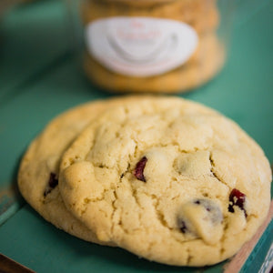 Cranberry & White Choc Cookies