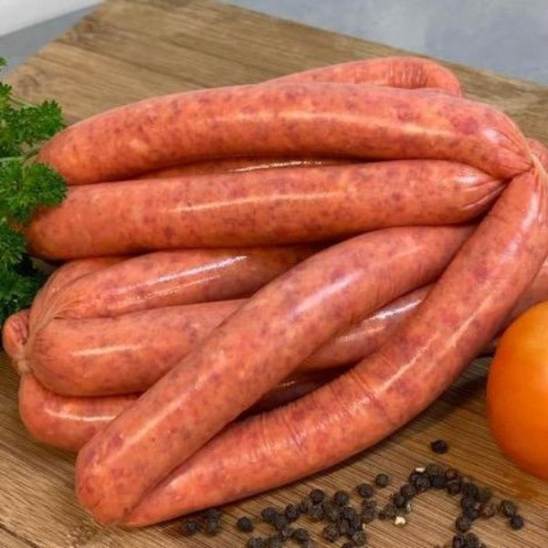 Sausages - beef, roasted tomato and cracked pepper 500g (gluten free)