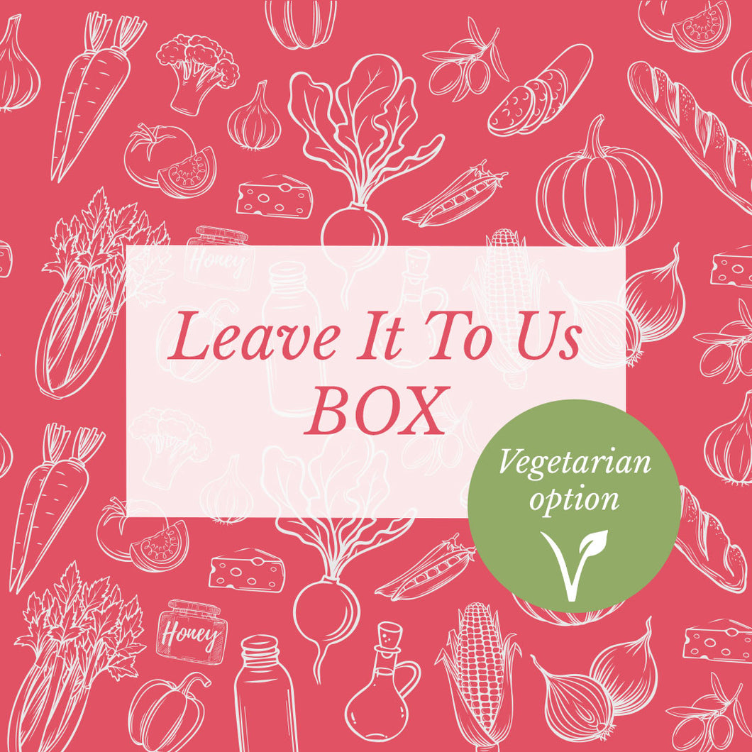 Leave it to us Box - Vegetarian Edition
