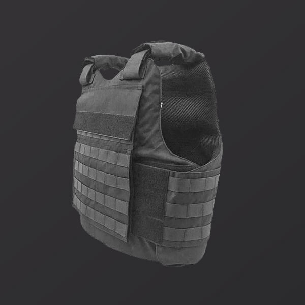 GS-OSBMTV – Overt Level IIIA Multi Threat Ballistic Vest (with provisions for hard ballistic plates to up armor)