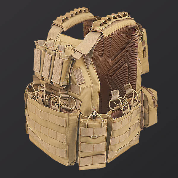 GS-TPCAMT Tactical (Ballistic) Plate Assault Multi-Threat Carrier System with Cummerbund