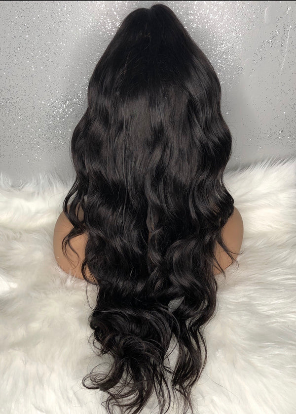 BODY WAVE VIRGIN  LACE FRONT 13x4