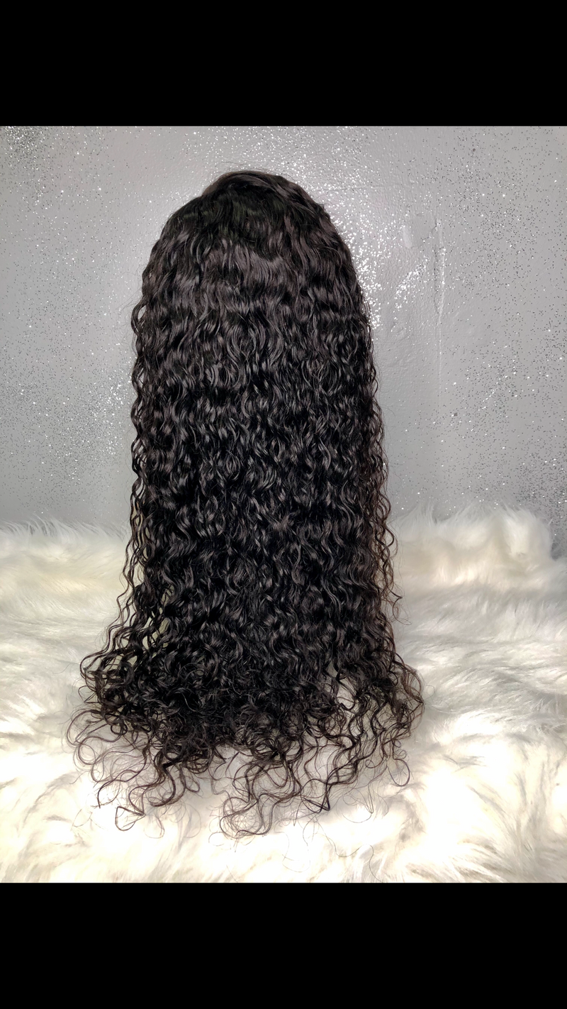 NATURAL WAVE LACE FRONT
