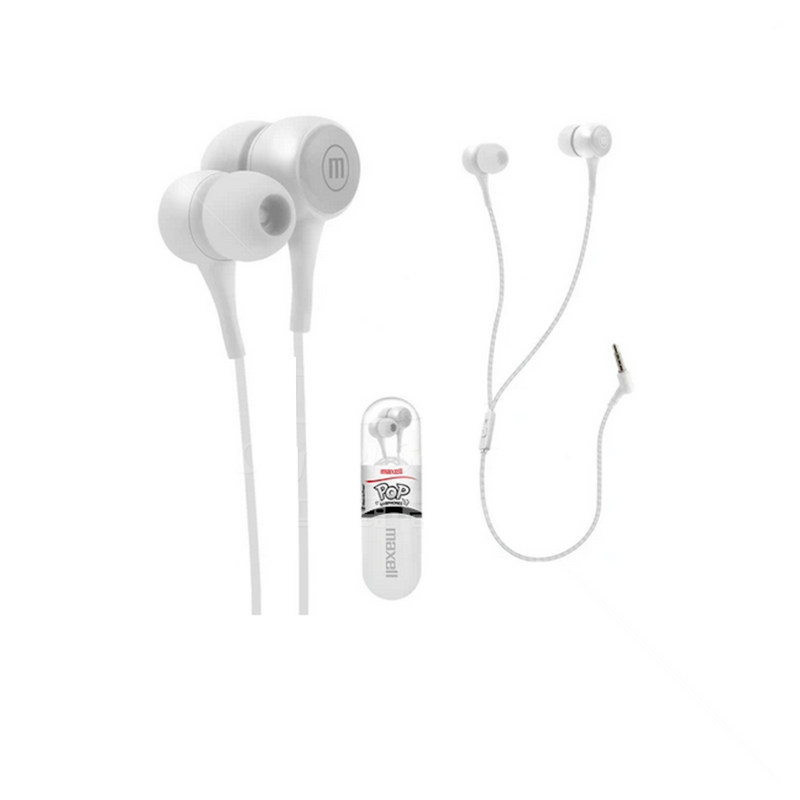 Audífonos Maxell Pop In Earphones Stereo
