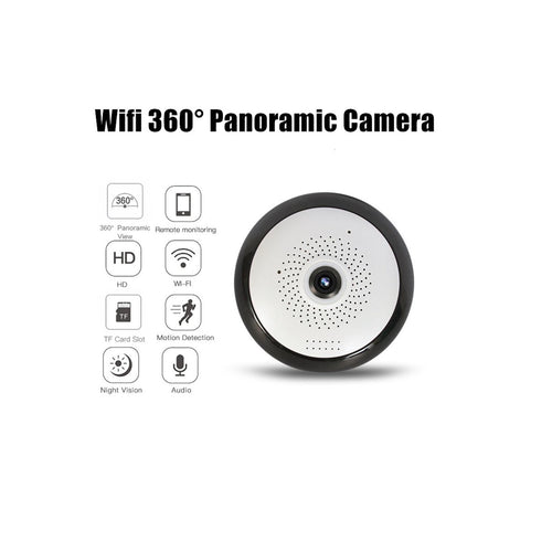 Camara De Seguridad Interior Wifi Ip Inalámbrico Mini Domo