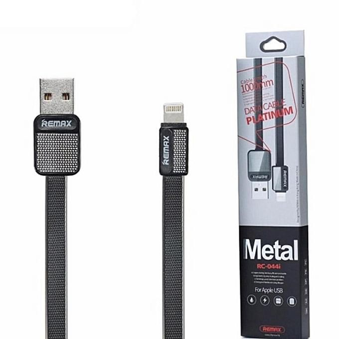Cable Remax Platinum para Lightning RC-044i Cable de carga