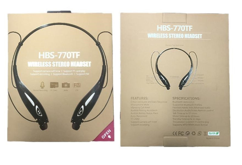 Audifonos, Diadema Bluetooth Hbs 770 tf