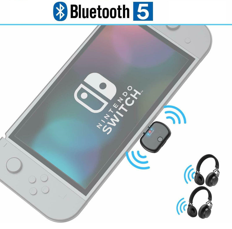Adaptador De Audio Bluetooth Transmisor Para Nintendo Switch