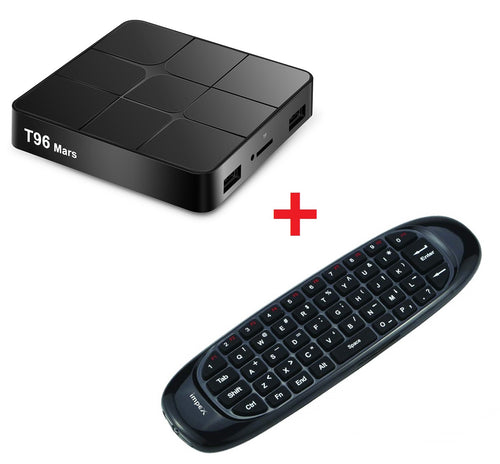 Súper Combo Tv Box T96 Mars + Control Mouse Smart Tv