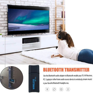 Transmisor Audio Bluetooth Usb Bt-tx1