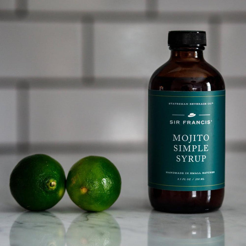 Sir Francis Mojito Simple Syrup-Pantry-Statesman Beverage Company-Forth and Nomad