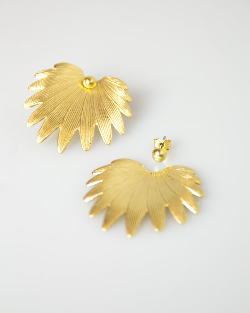 Palme D'or Earrings
