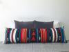Flecha Pillow Cover | Turquoise/Red-Textiles-Agave Supply-Forth and Nomad