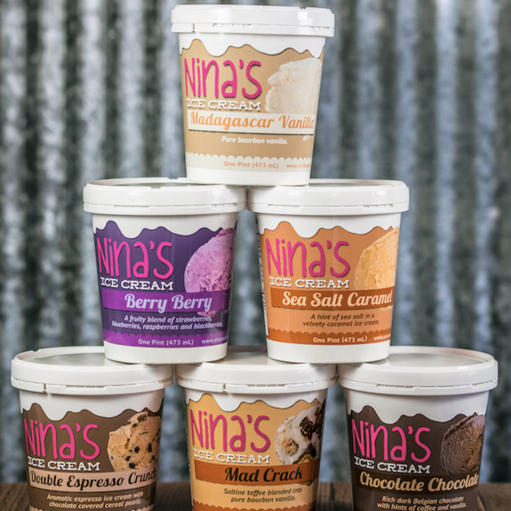 Nina's Pint Club: 32 Pints of Nina's Ice Cream
