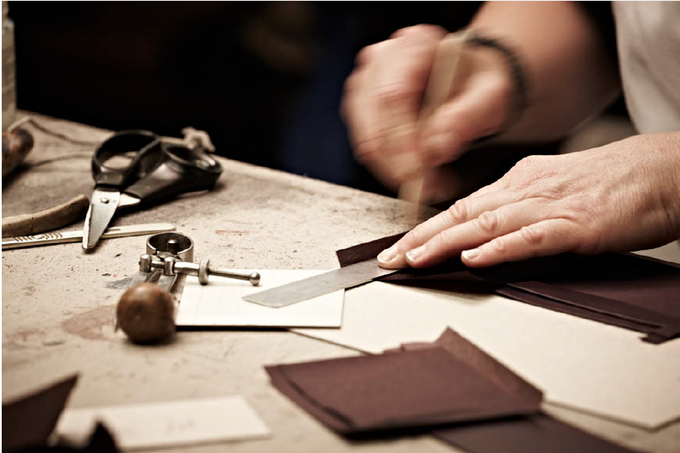 Kangaroo Leather Belt Workshop