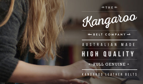 Kangaroo Leather Belts Profile