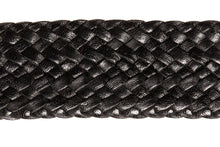 Load image into Gallery viewer, Leather Belt - 17 Strand - Black - The Kangaroo Belt Company