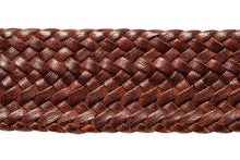 Load image into Gallery viewer, Leather Belt - 17 Strand - Dark Brown - The Kangaroo Belt Company