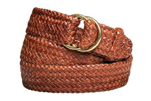 Load image into Gallery viewer, Leather Belt - 17 Strand - Tan - The Kangaroo Belt Company