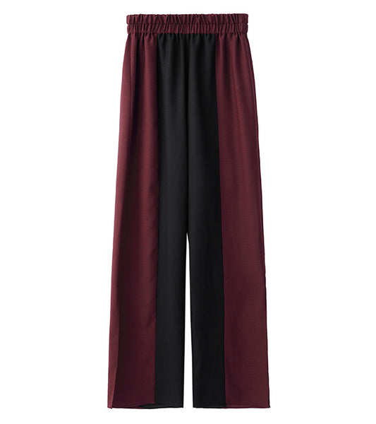easy pants - burgundy