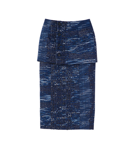 malhia skirt - blue