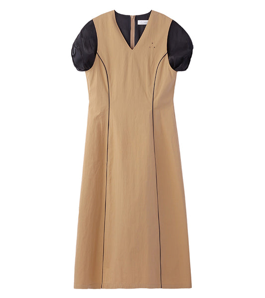 long dress - beige