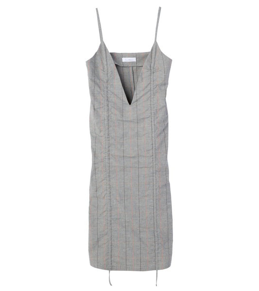 camisole dress - check