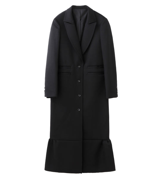 chester coat - black