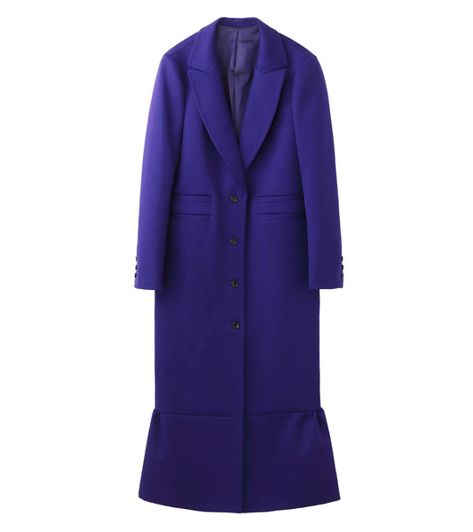 chester coat - blue
